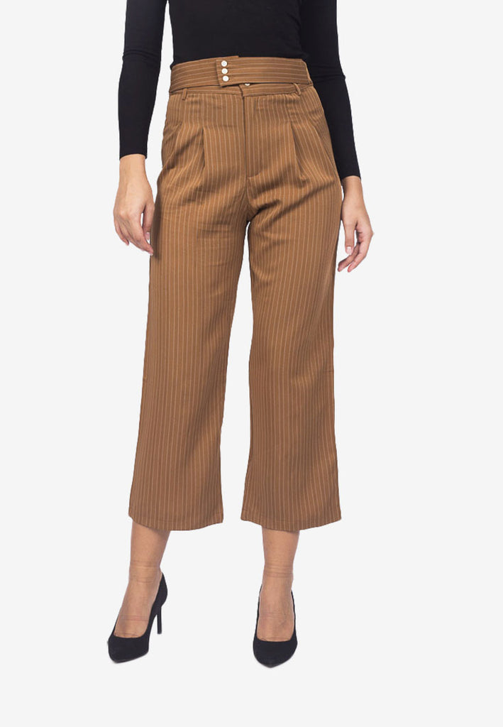 Slim Crop Trousers