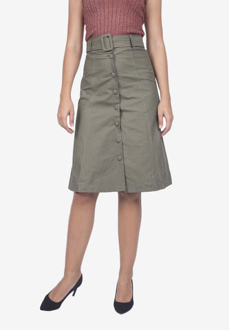 A-Line Safari Skirt