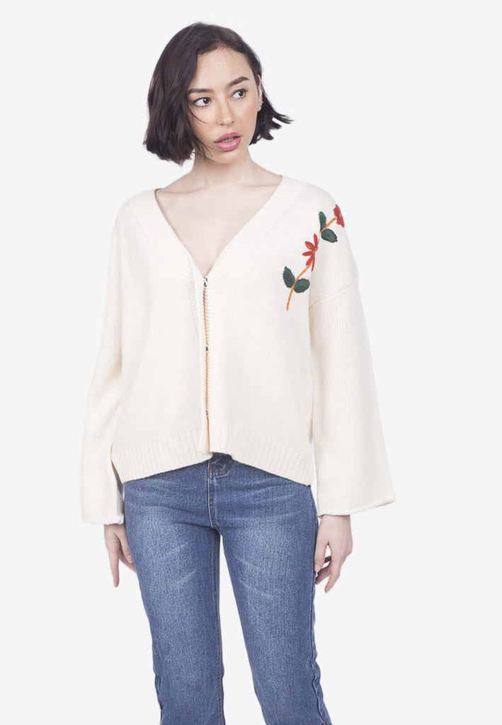 Embroidered Floral Jacket