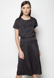 Pinstripe Top and Culottes Set - Caoros - 4