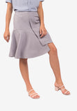 Tailored Flounce Skirt