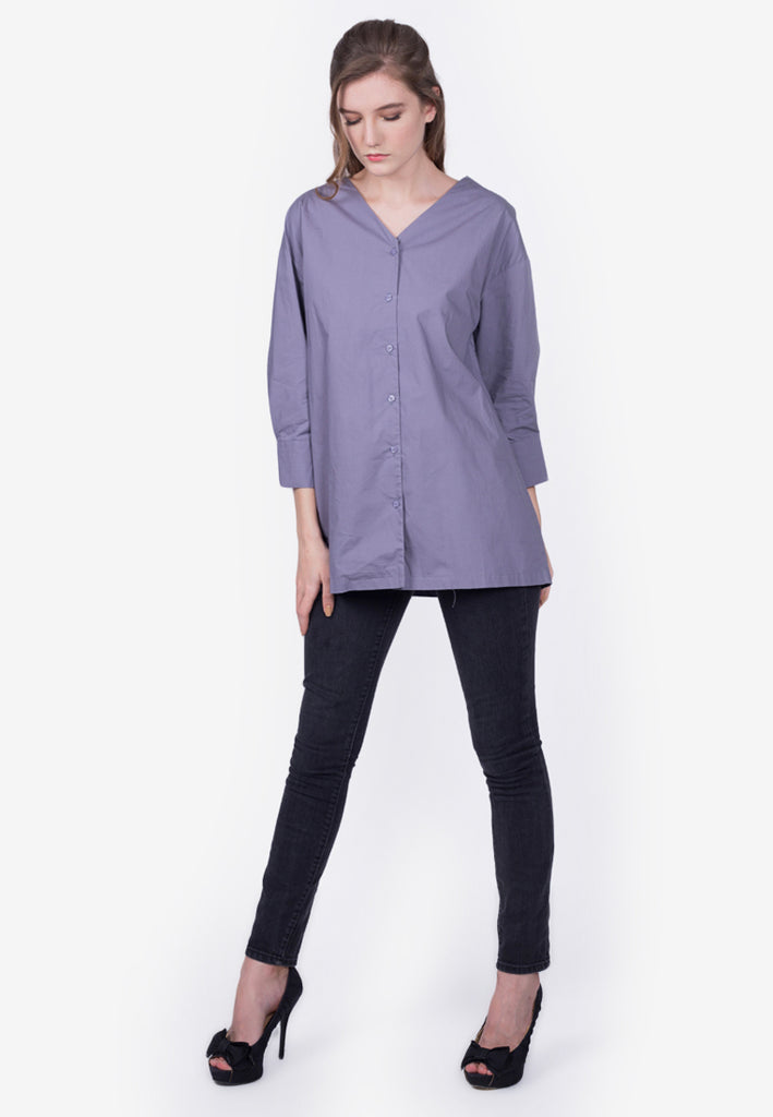 Blouse With Crisscross Back