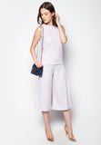 Minimalist Sleeveless Top and Pants Set - Caoros - 3