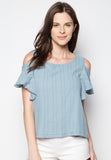 Off Shoulders Blouse - Caoros - 1