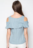 Off Shoulders Blouse - Caoros - 2