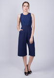 Knee-Length Jumpsuit