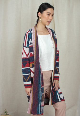 Long Navajo Sweater