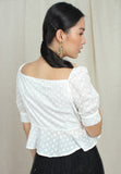 3/4 Puff Sleeves Top