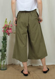 Wide Leg Cullote Pants