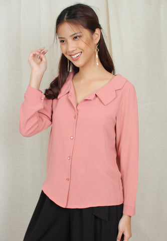 Peter Pan Collared Blouse