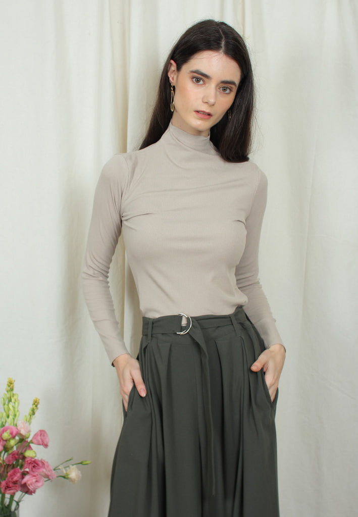 Turtleneck Top