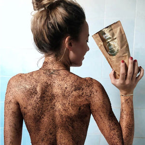 MARK coffee scrub Golden Shine