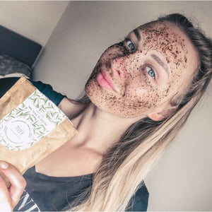MARK coffee face scrub - with Tea tree oil & Jojoba