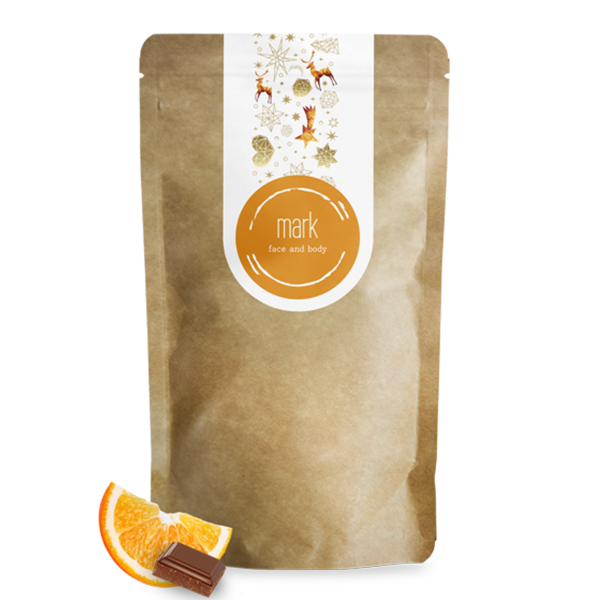 MARK coffee scrub Chocolate & Orange