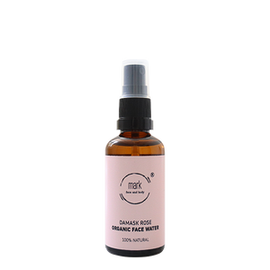 MARK face water Damask rose - for cleansing and soothing dull skin