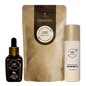 MARK coffee set - get rid of cellulite and wrinkles