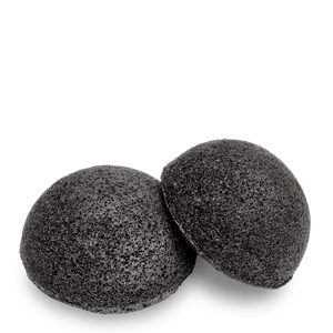 MARK facial konjac sponge black