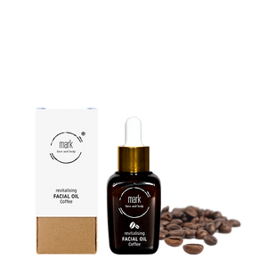 MARK organic oil Coffee - with argan, jojoba oil and vitamin E