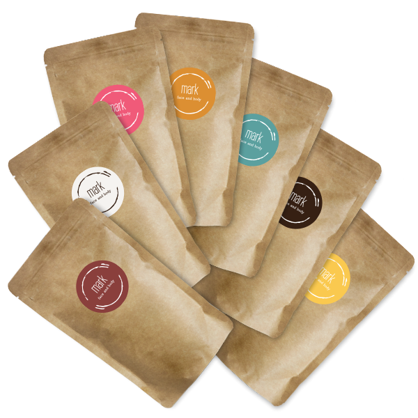 MARK coffee scrub travel pack