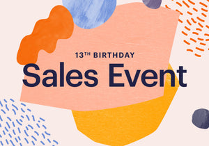 ETSY 13th Birthday SALES EVENT