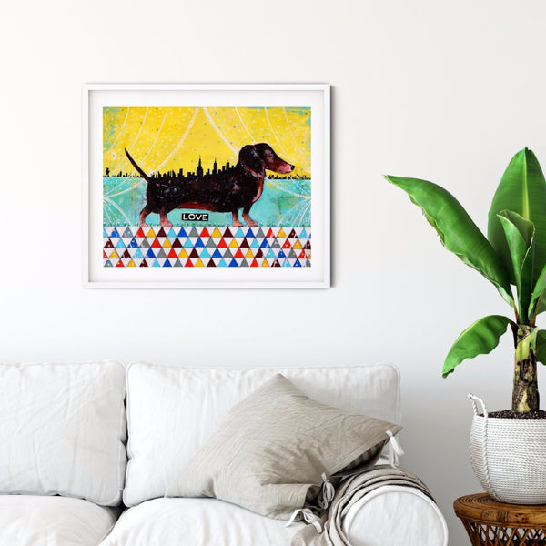 Ruby Tuesday/Dachshund Art