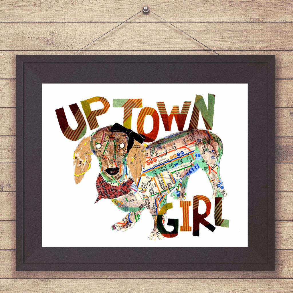 "Map dog ""UPTOWN GIRL"""