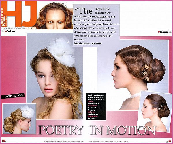Bridal editorial - Hairdressing Journal
