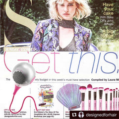 UKI Microphon in the Sunday Express