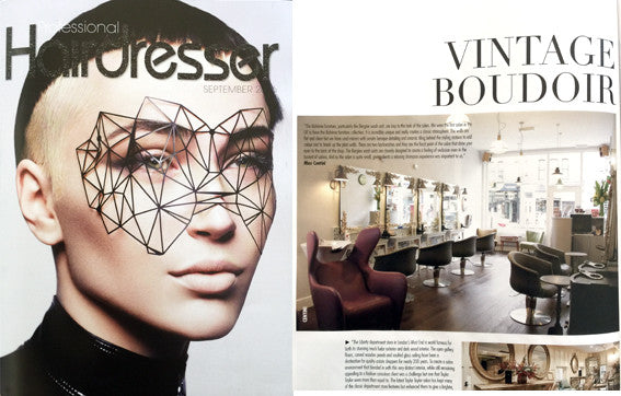 CENTINI HAIR IN PROFESSIONAL HAIRDRESSER MAGAZINE
