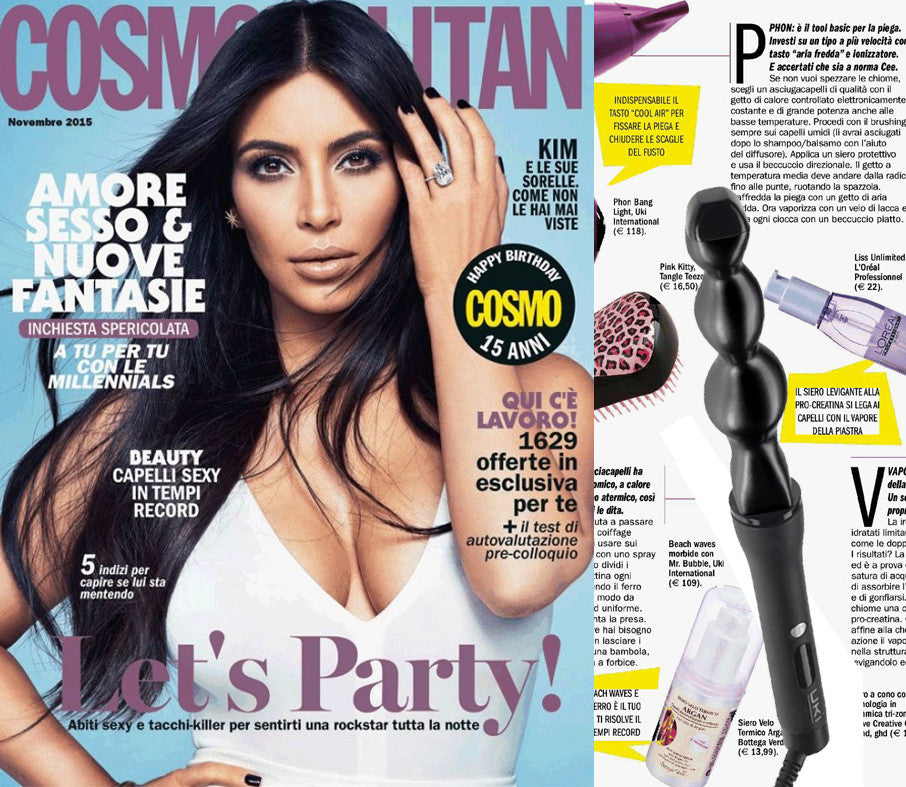 UKI Mr Bubble in Cosmopolitan