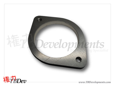 "3.5"" 2 Bolt Flange - Tapped - TB Developments"