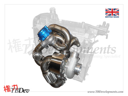 Garrett G25 Turbocharger Kit - TB Developments