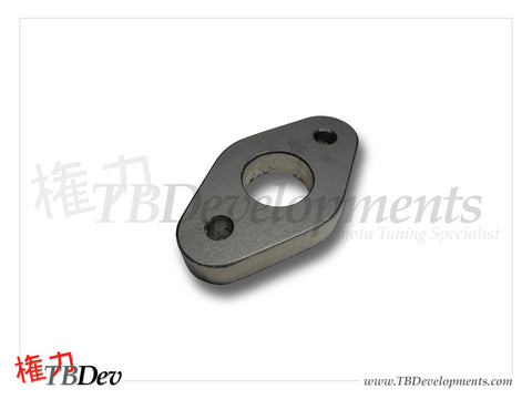 Toyota 02 Sensor Flange - Drilled - TB Developments