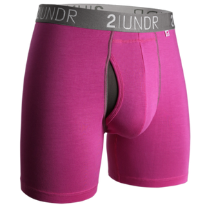 2UNDR Swing Shift Boxer Brief - Pink