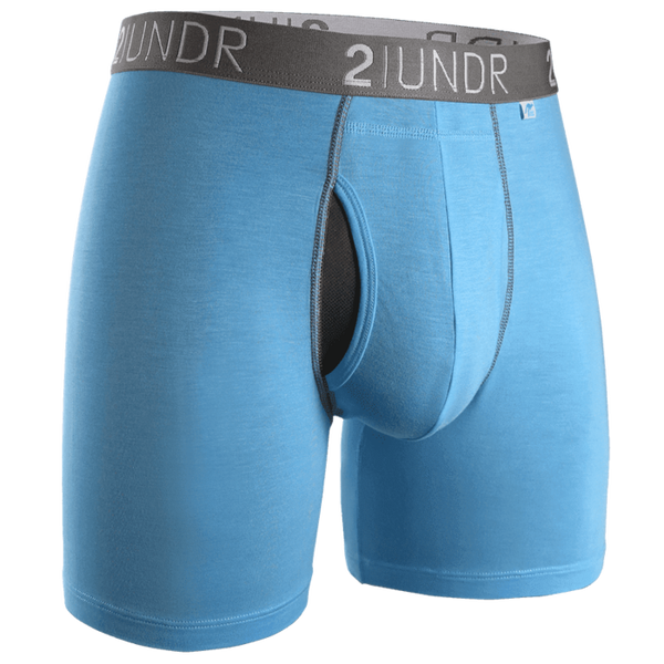 "Swing Shift 6"" Boxer Brief - Light Blue"