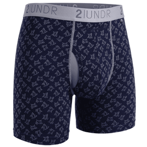 "Swing Shift 6"" Boxer Brief - Sharks"