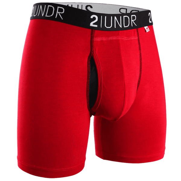 "Swing Shift 6"" Boxer Brief - Red"