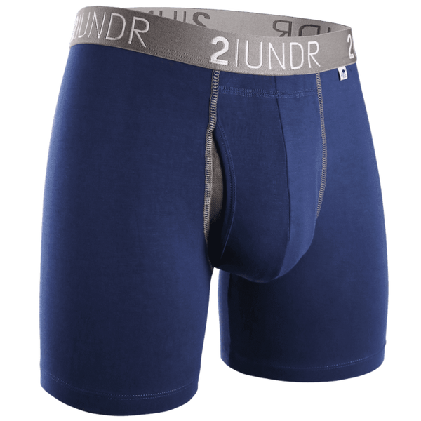 Swing Shift - Boxer Brief - Navy/Grey