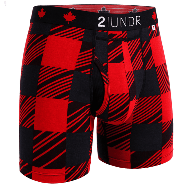 "Swing Shift 6"" Boxer Brief - O'Canada"