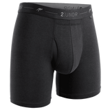 2UNDR Day Shift Boxer Brief - Black