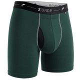 "Day Shift 6"" Boxer Brief - Dark Green"