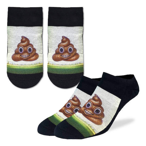 Piles Of Poop Ankle Socks