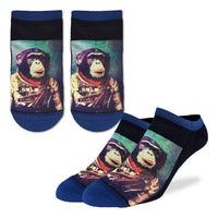 Space Monkey Ankle Socks