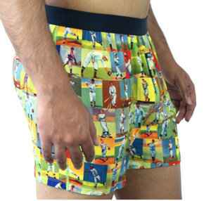 NTH Degree Modal Relaxed Fit Boxer - 'Collage'