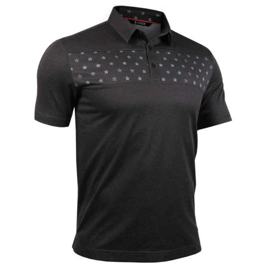 2 UNDR Short Sleeve Polo - Free4All/Charcoal