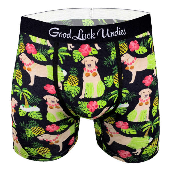 Good Luck Undies - 'Hula Labrador Retriever'
