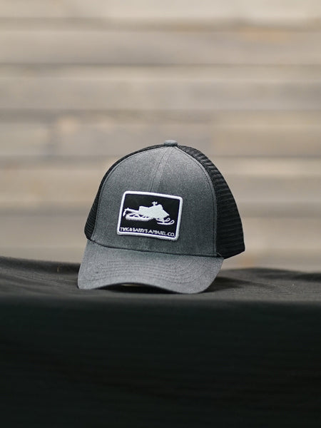 Thomas - Snowmobile Snapback Hat