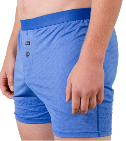 Zinc Nomad Relaxed Fit Boxer - Olympian Blue