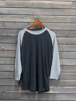 Grayson Baseball Tee - Grey