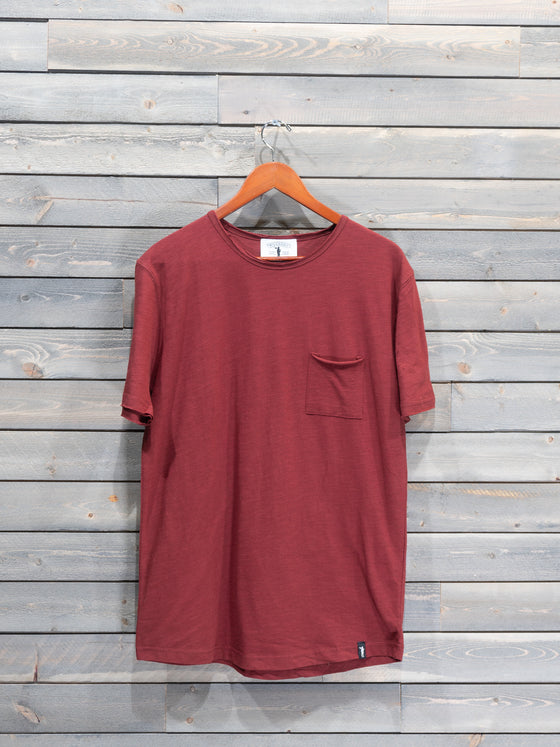 Caleb Pocket Tee - 5 Colours Available